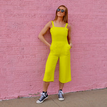 Load image into Gallery viewer, Neon Green Jumpsuit