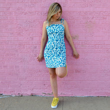 Load image into Gallery viewer, Teal Daisy Dress