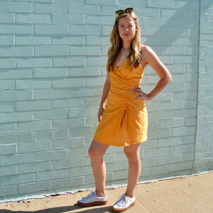 Sunflower Cinch Dress