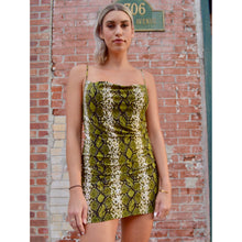 Load image into Gallery viewer, Snake Slip Dress