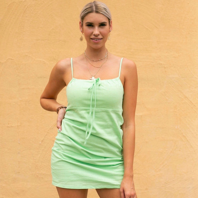 Mint Woven Dress