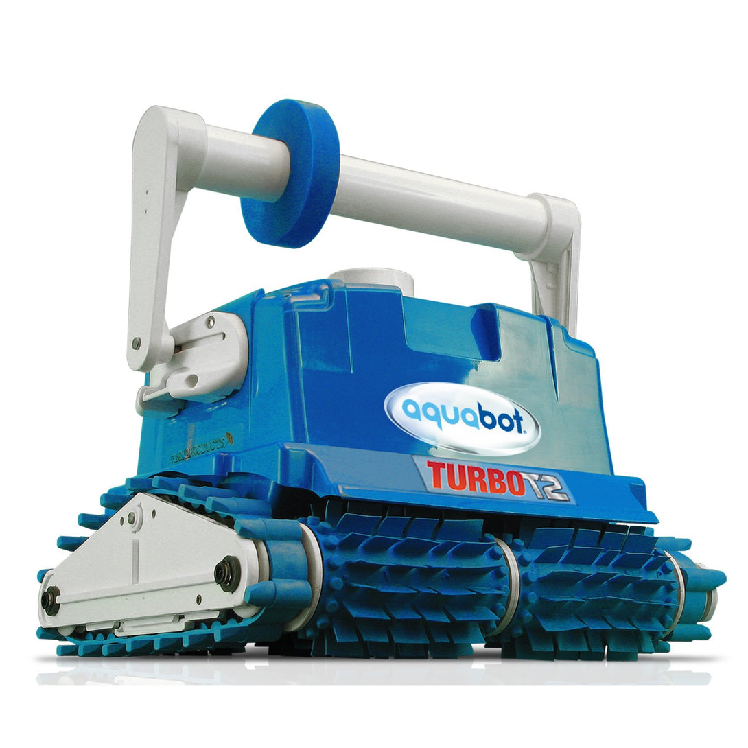 Aquabot Turbo T4-RC Cleaner w/ Caddy for In Ground Pools-Aqua Products-The Cleaning Robot