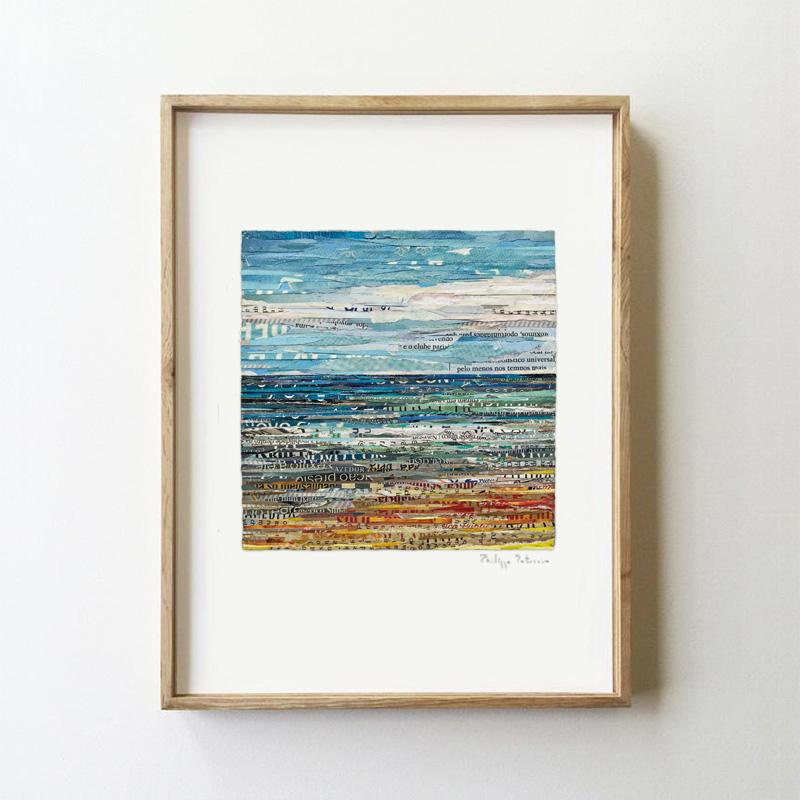 SET OF 3 SEASCAPES