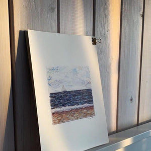 SET OF 2 SEASCAPES