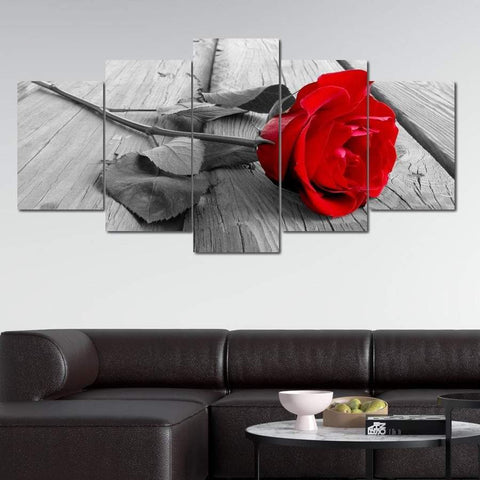 Rose Flower Canvas