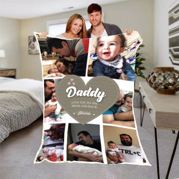 Daddy's Love Premium Blanket