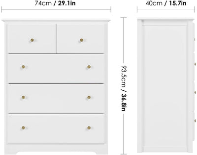 Chest of Drawers For Bedroom Clothes Storage - Ustad Home