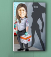 Paramedic Female Superhero - Ustad Home