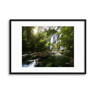 Mountain Stream by Patrick Foto Framed Print - Ustad Home