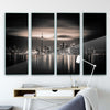 Toronto by Yoann Glass Print - Ustad Home