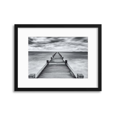 Embarquement by Jean-Louis Viretti Framed Print - Ustad Home