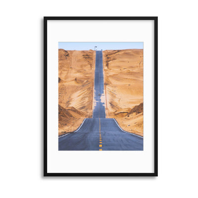 Heaven Road by Tianqi Framed Print - Ustad Home