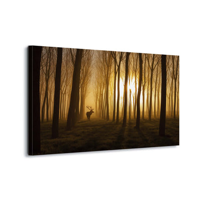 Once Upon a Time by Nafets Norim Canvas Print - Ustad Home