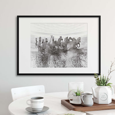Illusion of Power (13 horse power though) by Roman Golubenko Framed Print - Ustad Home