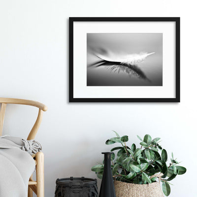 White by Olinda Coutinho Framed Print - Ustad Home