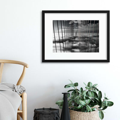 Ethereal Land Mark by Akira Takaue Framed Print - Ustad Home