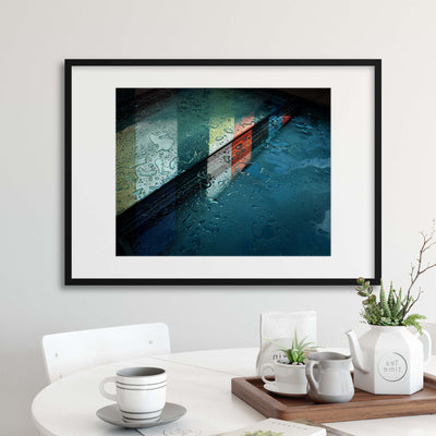 Reflections by Henk van Maastricht Framed Print - Ustad Home
