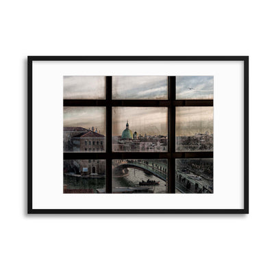 Venice Window by Roberto Marini Framed Print - Ustad Home
