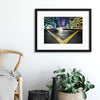 V by Robert Work Framed Print - Ustad Home
