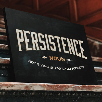 "Exclusive ""Persistence"" Canvas"