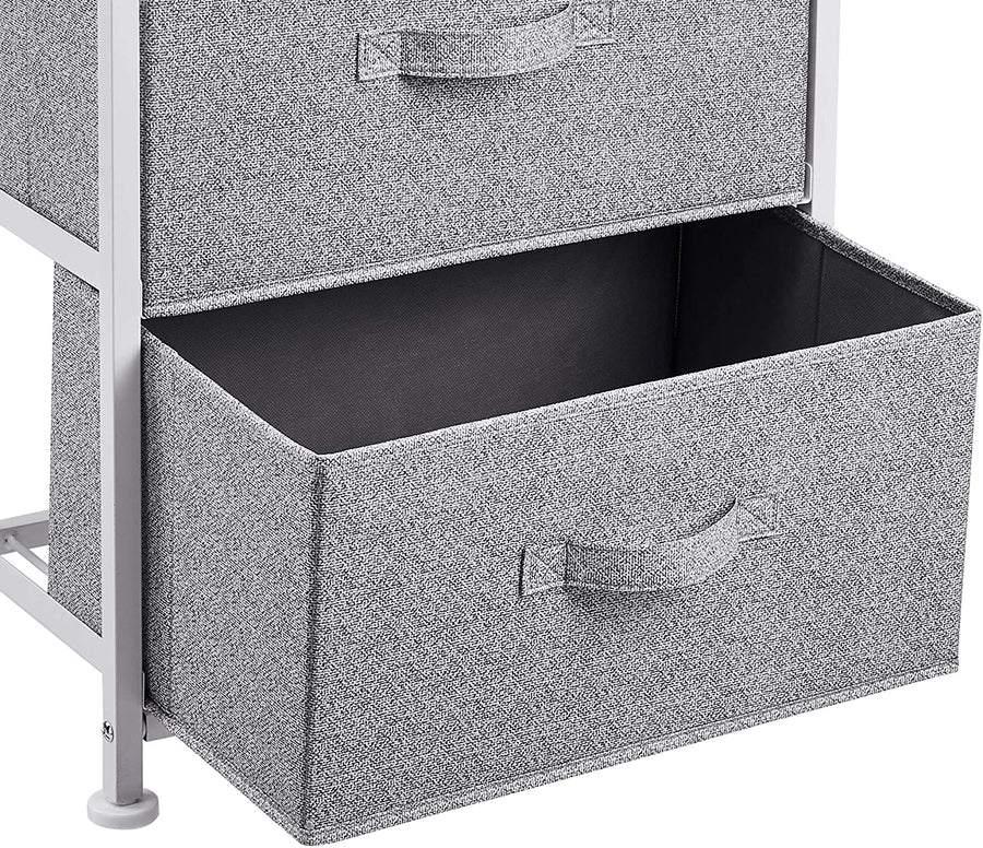 Fabric 3 Drawer Storage Organizer Unit for Closet - Ustad Home