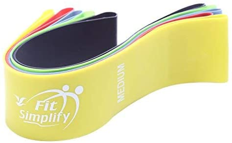 Fit Simplify Resistance Loop Exercise Bands -5 Sets - Ustad Home