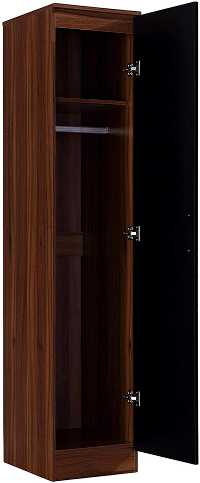 2 Door Double Wardrobe with Hanging Rail - Ustad Home