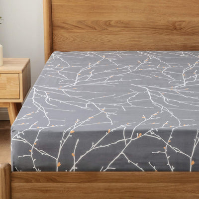 Fitted Bed Sheet Brushed Microfiber and Wrinkle Resistant - Ustad Home