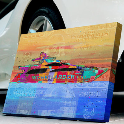"High- Quality ""Yacht Dreams"" Premium Canvas"