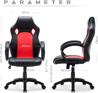 WM Heart Office & Gaming Chair - Ustad Home