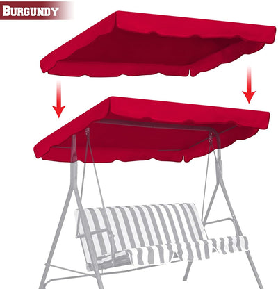 "Outdoor 77""x43"" Swing Canopy - Ustad Home"