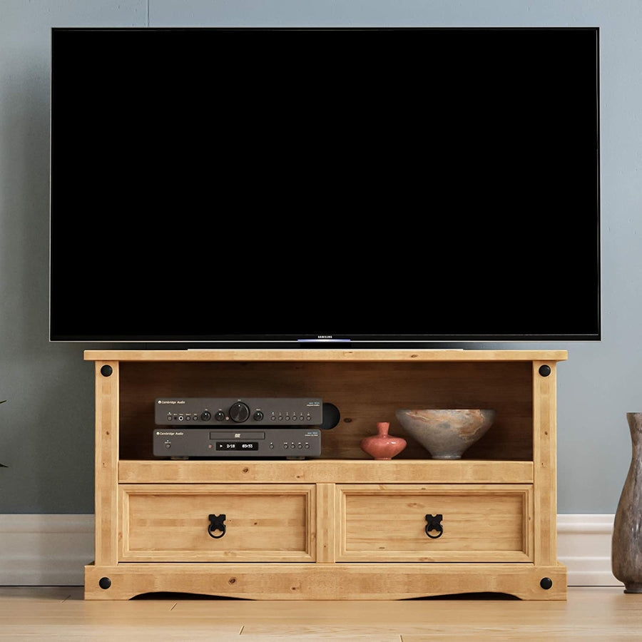 Wooden TV Cabinet - Ustad Home