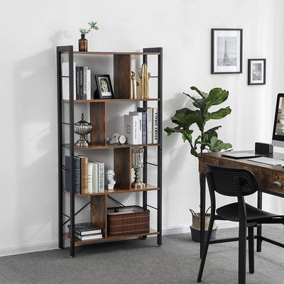 Industrial Bookcase - Ustad Home