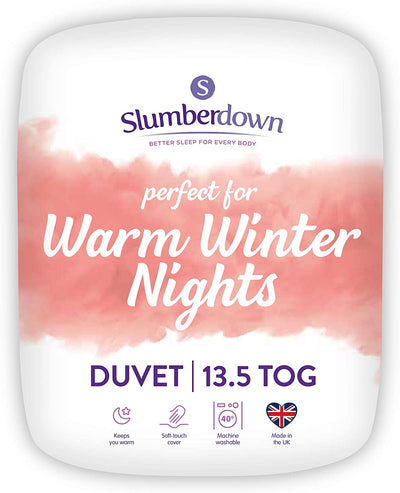 Comfortable Duvet Medium Pillows 13.5 Tog Winter - Ustad Home
