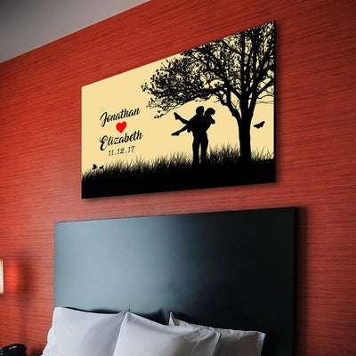 "Grand ""SPECIAL LOVE"" Personalized Canvas"