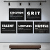 Awesome Definitions Bundle Canvas 5 Sets