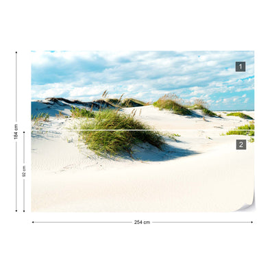 Afternoon in the Dunes Wallpaper - Ustad Home