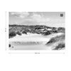 Dune Paradise in Black and White Wallpaper - Ustad Home