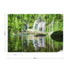 Waterfall Pool Wallpaper - Ustad Home