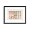 Classical Architecture, Illustrated - II Framed Print - Ustad Home