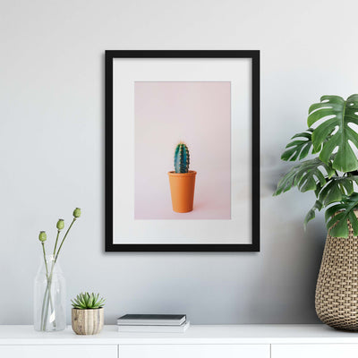 A Little Prickly Framed Print - Ustad Home