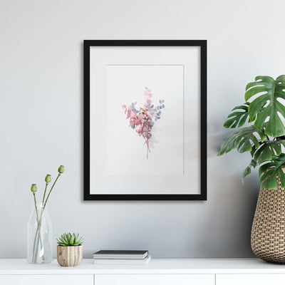 Delicate Shadows Collection No.4 Framed Print - Ustad Home