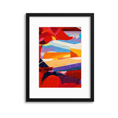 ColourWall 1 Framed Print - Ustad Home