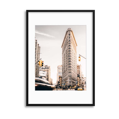 Flat Iron Building, NYC Framed Print - Ustad Home