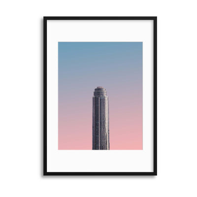 Colours of Architecture Collection No. 4 Framed Print - Ustad Home