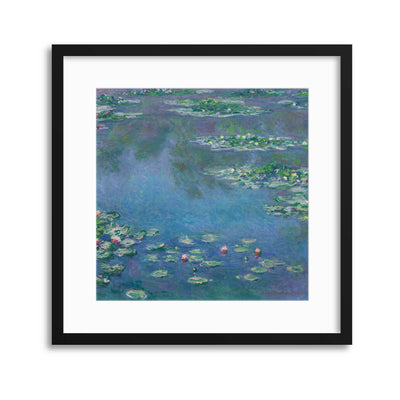 "Monet, ""Water Lilies"" Framed Print - Ustad Home"