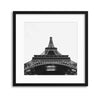 View from the Bottom, Eiffel Tower Framed Print - Ustad Home