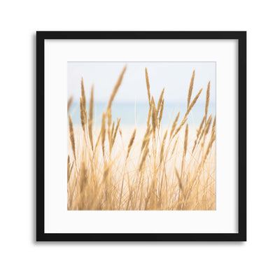 Sitting by the Shore Framed Print - Ustad Home