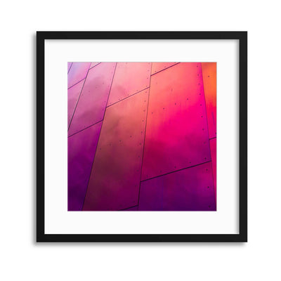 Architectural Armour Framed Print - Ustad Home