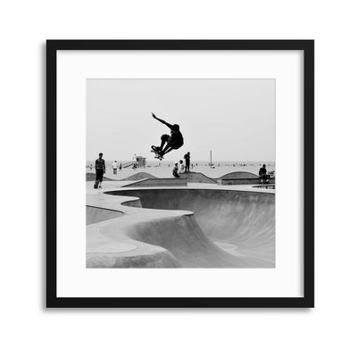 Getting Air Framed Print - Ustad Home